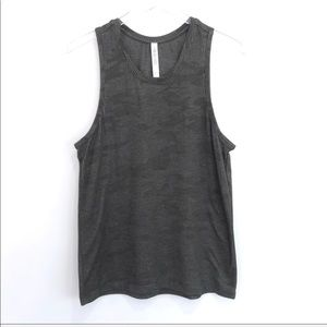 Like New Lulu lemon Camo ribbed Racerback tank S
